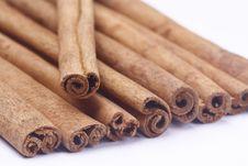 Free Cinnamon Sticks Royalty Free Stock Photos - 21114758