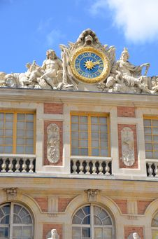 Free Detail Of Chateau Versailles Palace Royalty Free Stock Photo - 21115335