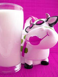 Free Milk Royalty Free Stock Photo - 21115845