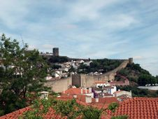 Free Obidos-Portugal Royalty Free Stock Photos - 21116088