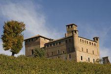 Free Grinzane Cavour Castle Stock Photo - 21116110