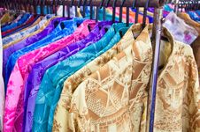Free Thai Style Clothing For Sale And Marketing Royalty Free Stock Photography - 21116567