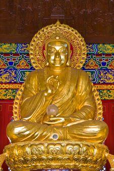 Free Buddha Image By Chinese Style Royalty Free Stock Photo - 21117245
