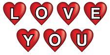 Free Love You Hearts Stock Photo - 21118020