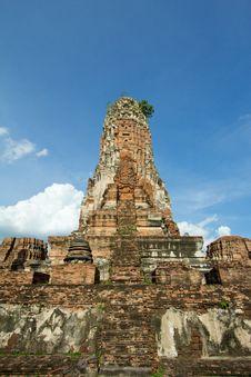 Free Thai Stupa Stock Image - 21119021
