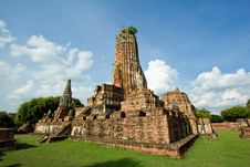 Free Mightiness Of Thai Civilization Stock Photography - 21119322