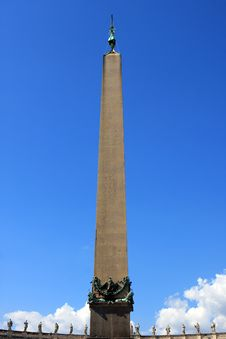 Free Obelisk, Vatican Royalty Free Stock Image - 21119456