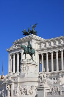 Free Vittoriano, Rome Royalty Free Stock Image - 21119636