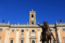 Free Palazzo Senatorio, Rome Royalty Free Stock Photo - 21120975