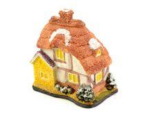 Free Toys House Isolated On White Background Stock Photos - 21121033
