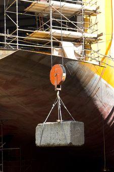 Free Shipyard Stock Image - 21121261