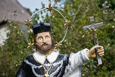 Saint John Of Nepomuk Royalty Free Stock Photos