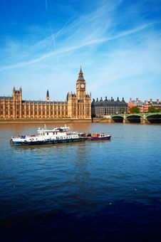 Free Houses Of Parliament, London Stock Photo - 21121500