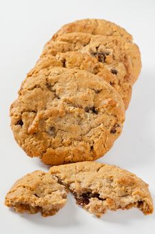 Free Chocolate Chip Cookies Stock Photos - 21121563