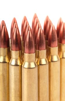 Free Several Ammo For The Automatic Weapons Stock Images - 21121954