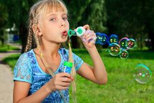 Free Bubbles Stock Image - 21122211