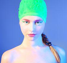 Free Swimmer Stock Image - 21122441