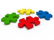 Free 3d Puzzle Stock Image - 21122581