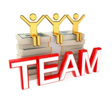 Free Successful Teamwork Concept. Royalty Free Stock Images - 21123219