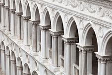 Free Doge S Palace Arches Stock Image - 21123541