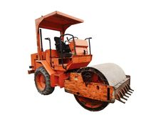 Construction Road Roller Royalty Free Stock Image