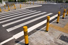 Free Road Corssing And Zebra Line Stock Photos - 21124893