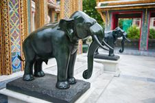 Elephant Statues Royalty Free Stock Image