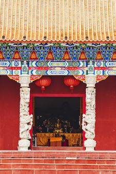 Temple Gate Royalty Free Stock Photo