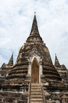 Free Ayutthaya Temples Royalty Free Stock Photos - 21126028