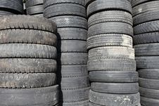 Old Tires Stock Images