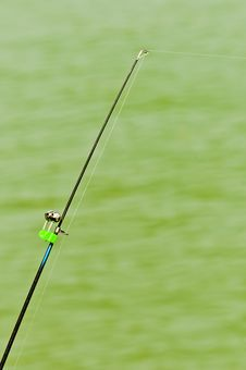 Free Fishing Rod Stock Photography - 21126422