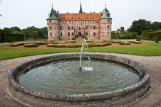 Egeskov Castle Funen Denmark Stock Images