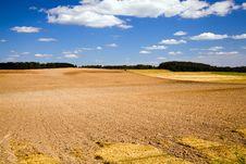 Free Plowed Field Royalty Free Stock Image - 21127756