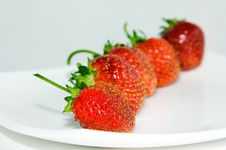 Free A Strawberry Stock Photography - 21127852