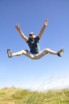 Free Jumping In The Air Stock Photography - 21128222