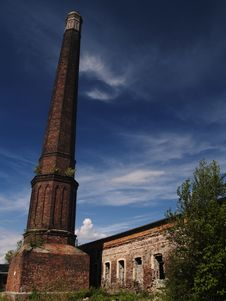 Free Brick Chimney Stock Photography - 21128522
