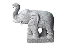 Elephant Stone. Royalty Free Stock Photography