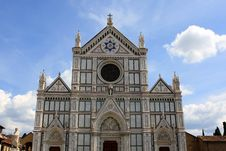 Basilica Di Santa Croce Royalty Free Stock Images
