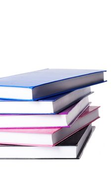 Free Pile Of Colorful Books Isolated Royalty Free Stock Images - 21130029
