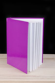 Free Pink Book On A Black Background Stock Photos - 21130063
