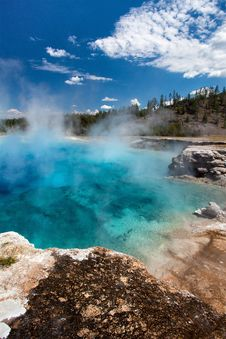 Free Yellowstone National Park Stock Photography - 21130112