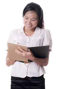 Free Asian Secretary Stock Photography - 21130132