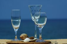 Free Three Glasses Of Wine Stock Photos - 21130673