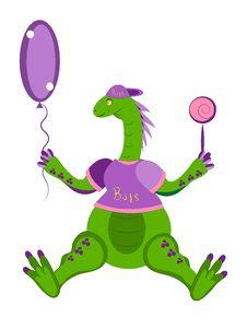Free Dinosaur The Child. Royalty Free Stock Image - 21130676