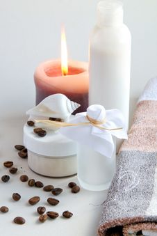 Free Spa Setting Royalty Free Stock Photography - 21132037