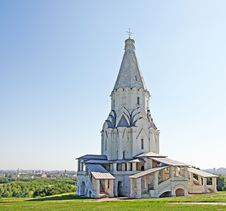 Church At Kolomenskoe, Russia Stock Photos