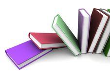 Free Colored Books Stock Photo - 21132880