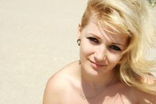 Free Attractive Blond Royalty Free Stock Photo - 21133125