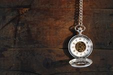 Free Watch On Wood Stock Photo - 21133450