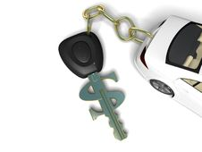 Free Car Key Stock Photography - 21134152